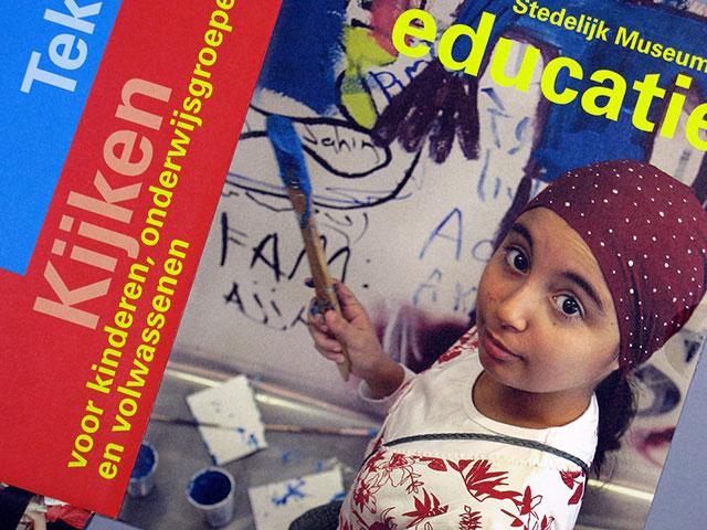 stedelijk museum cs educatie folder