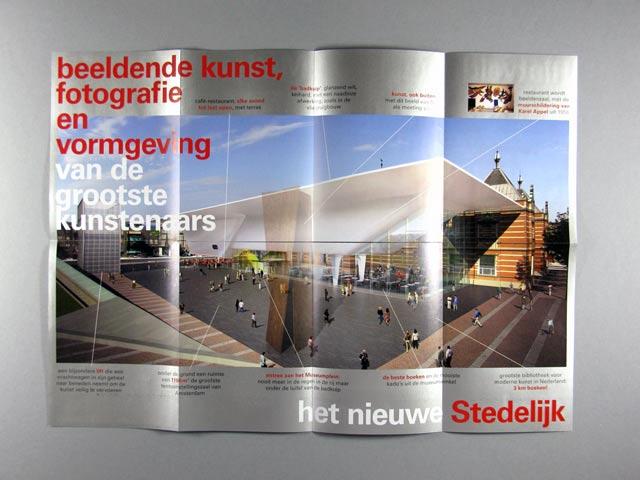 Stedelijk Museum Uitmarkt folder